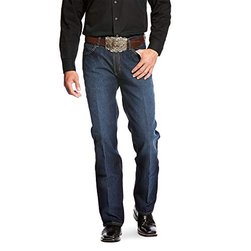 ARIAT Men's Relentless Relaxed Fit Stretch Deuces Boot Cut Jean