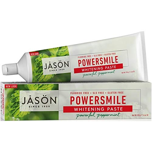 (Jason Natural Powersmile Fluoride-Free Toothpaste, 6 oz (Pack of 4))