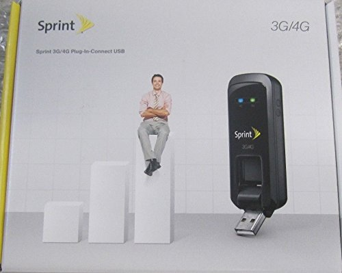 SPRINT 3G/4G PLUG-IN-CONNECT U602 Wireless Modem Dual Mode Broadband Aircard by Sprint