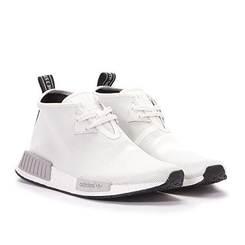 Women/Men Adidas Originals NMD C1 Chukka Trail Gray/White