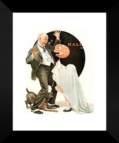 (Halloween 20x24 Framed Art Print by Norman)