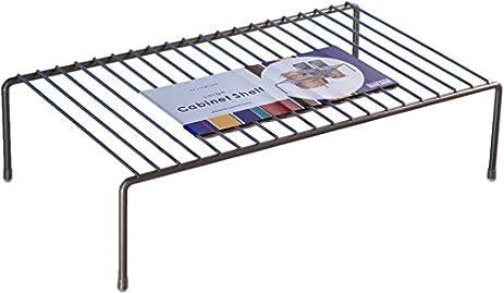 Amazon.com: Organized Living Large Cabinet Shelf - Nickel: Home ...