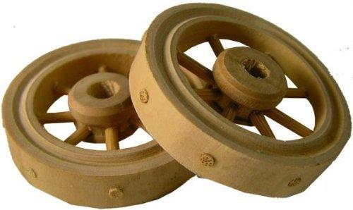 Wagenrad Durchmesser 4cm Krippenzubeh/ör 2tlg