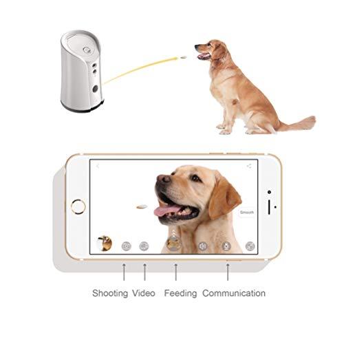 Venidice skymee 2-Way Audio Dog Camera, Night Vision Pet Camrea, WiFi Remote Control for Treat Dispenser Cleaning Cloth by Venidice (Image #1)