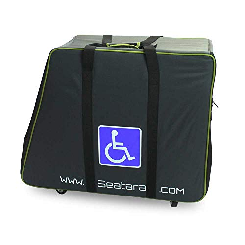 NRS Healthcare Wheelable Carry Case for Folding Shower Commode Chair