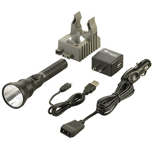 Streamlight 74412 Strion DS-IEC Type A (120V/100V) AC/12V DC 2 Holders Flash Light