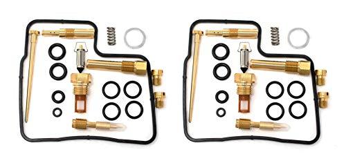 Carburetor Rebuild - DP 0201-005 Carburetor Rebuild Repair Parts Kits (Set of 2) - Fits Honda Shadow 1100 VT1100