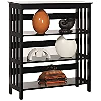 New Home Deal Multipurpose Display Shelf Rack (3 Tier, Espresso)
