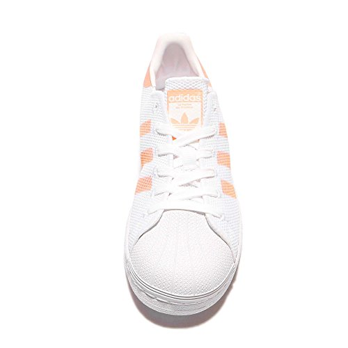 Adidas Originals Vrouwen Originelen Superster Trainers Schoeisel Zon Gloed Us6.5 Wit