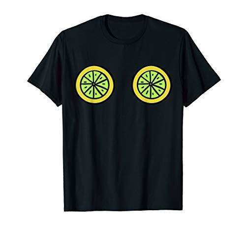 (Lime Boobs TShirt Cinco de Mayo Mexican Food Drink Party Tee)