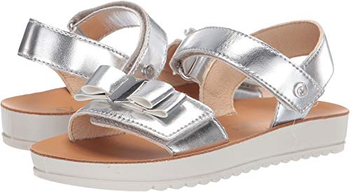 Naturino Girl's Crotone SS19 (Little Kid/Big Kid) Silver 31 M EU