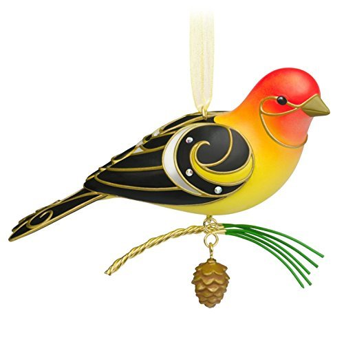Hallmark Keepsake Ornament Beauty of Birds Western Tanager