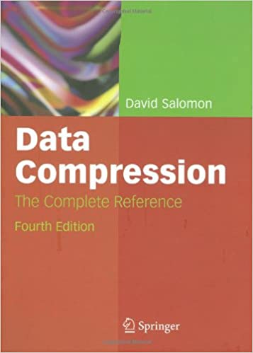 Buy Data Compression: The Complete Reference Book Online at