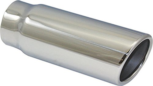 Stainless Steel Rolled Edge Exhaust Tip 2.5