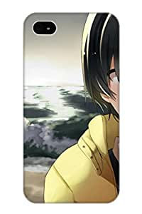 Hugetree Hot Tpye Anime Amagami Case Cover For Iphone 4/4s For Christmas Day's Gifts