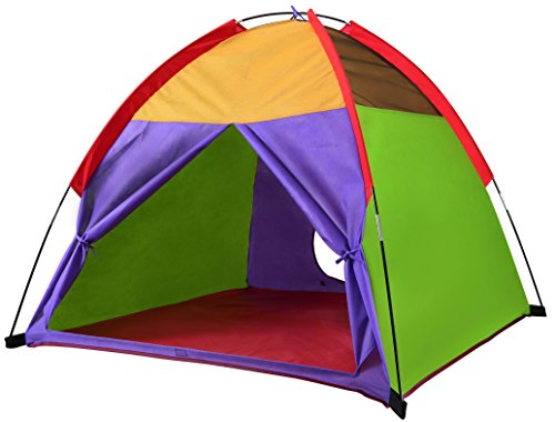Kids Tents Rainbow Playhouse Outdoor Camping Indoor Playground Children Game Toy Gift for Boys and Girls by Alvantor 48
