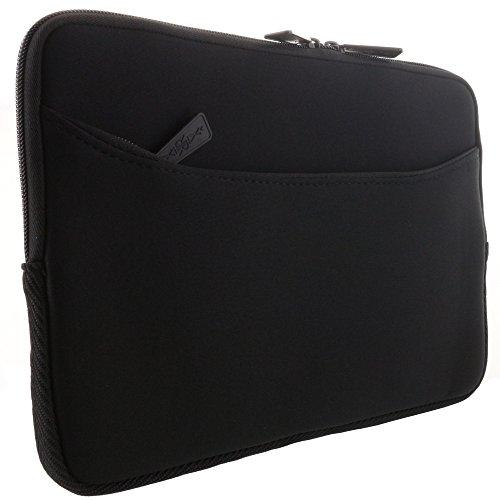 XiRRiX Tablet PC Tasche - Neopren Schutzhülle mit zusätzlichem Fach Grösse: bis 25,65 cm (10,1 Zoll) für max. Abmessungen von 262 x 180 mm