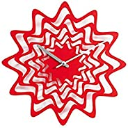 Propegetti Flux Wall Clock, us:one Size, Red