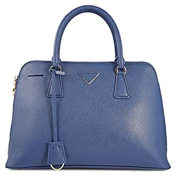 0816# Tote Bag for Woman - Synthetic, Blue