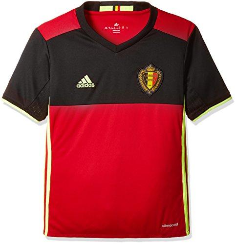 固執チェス再編成する(アディダス)adidas トレーニングウェア サッカーベルギー代表 ホーム レプリカシャツ半袖 ABZ76 [ジュニア]