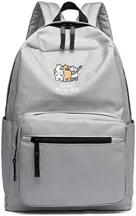 YOURNELO Boy s Girl s We Bare Bears Laptop Bag School Backpack Rucksack (A  Gray) 7babc5e84b