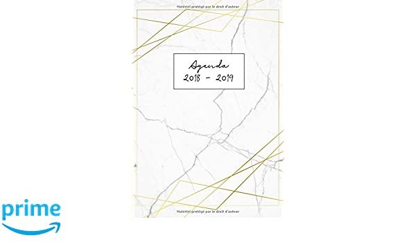 Agenda 2018-2019: Agenda Scolaire de Juillet 2018 à Août ...