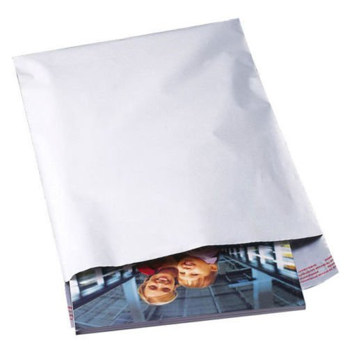Large 19x24 Thick Sturdy White Poly Mailers Shipping Envelopes Adhesive 15 - Dress Warehouse Paisley