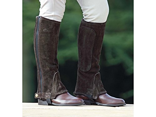 Half Shires Suede Chaps Adults Short Brown 77wvqHf