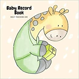 baby record book daily tracking log baby gigi health journal keeper