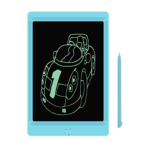 LCD Writing Tablet, 8.5-inch Writing Board Doodle Board, Electronic Doodle Pads Drawing Board with Lock Function Gift for Kids and Adults at Home,School and Office (Blue)