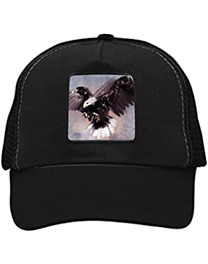Unisex Watercolor Eagle Adjustable Classic Hiphop Hat Baseball Cap Snapback Dad Hat