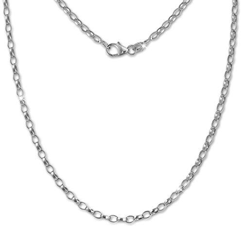 SilberDream Erbskette oval 925 Sterling Silber Halskette 70cm Kette SDK20970