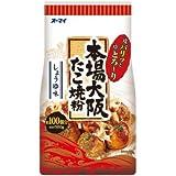オーマイ 本場大阪たこ焼粉 しょうゆ味 500g×4個