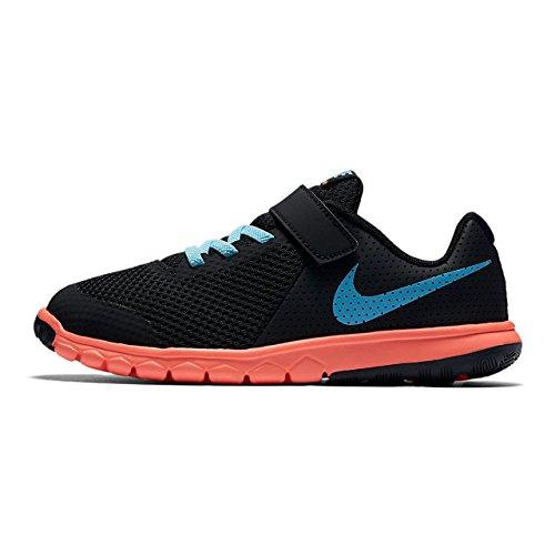 Zapatillas para ni�o, color Negro , marca NIKE, modelo Zapatillas Para Ni�o NIKE FLEX EXPERIENCE 5 Negro Naranja-Negro