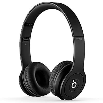 Beats by Dr. Dre Solo HD 07400 | On-Ear Headphone Drenched in Black BT ON SOL DIC BLK