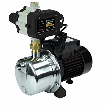 Elegant 1 1/2 Horsepower Whole House Water Pressure Booster Pump With Stainless  Steel Housing