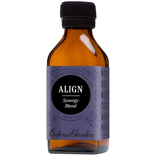 Align Synergy Blend Essential Oil by Edens Garden 100 ml (Comparable to DoTerra's Balance) by Edens Garden