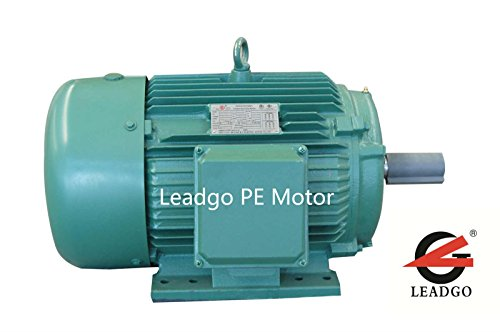 BJPE1-18-143T NEMA Premium Efficiency Severe Duty and General Purpose Electric Motor, SKF Roller Bearing, 1HP, 3-phase, 1800RPM, 208-230/460V; 50/60Hz, Frame (Three Phase Motor Efficiency)