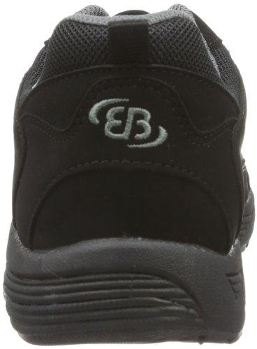 Bruetting Hiker - Zapatos para caminar Hombre Negro (Schwarz/grau)