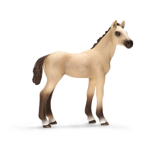 Schleich Akhal-Teke Foal Toy (Foal Horse Heads)