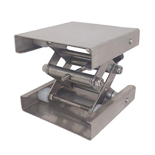 Precise Manual Lift Laboratory Manual Lab Jack Translation Stage Lab Jacks Platforms Manual Vertical Translation Stage (8x8x11'')