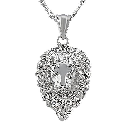 6a7493f84724 De alta calidad hanessa Hombre Joyas de oro chapado en oro o plata platino)  León