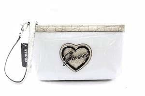 Guess Elma Slg Wristlet Clutch Handbag Taupe Multi Wallet Ladies Purse