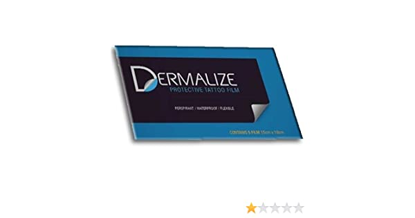 DERMALIZE PELICULA 5pcs (Dermalize pro Waterproof Breathable ...