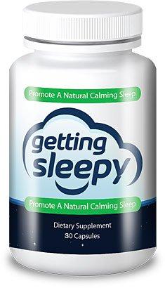 Getting Sleepy - All Natural Sleep Aid - Fast Acting - Chewable - 8 Natural Active Ingredients - Melatonin - Valerian - L-tryptophan