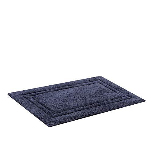 Tapete para Casa, Buddemeyer, Elegance, Azul, 100% Algodão com Base Antiderrapante