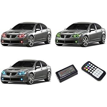 04e163c44e824 Amazon.com: FLASHTECH Pontiac G8 08-09 V.3 Fusion Color Change RGB ...