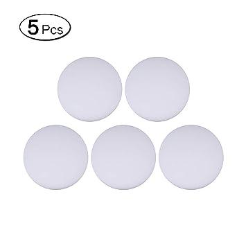 5 topes de goma de silicona autoadhesivos para pomo de puerta, de ...