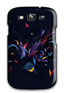 Defender Case For Galaxy S3, Abstract Chaos Pattern 3311610K79115546