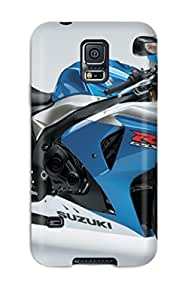 New Design Style Walter Williams Hard Case Cover For Galaxy S5- Suzuki Motorcycle